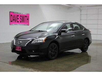 2014 Nissan Sentra  14 Nissan Sentra SL Auto Leather Seats Keyless Start Bose Premium Sound
