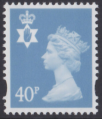 GB 2000 Northern Ireland 40p deep azure 2 bands u/m regional stamp SG NI84