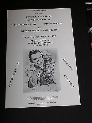 THE 50th ANNIVERSARY SHOW HOWDY DOODY & BUFFALO BOB Poster