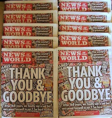 """10 """"news Of The World"""""""