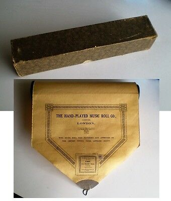 """Hand-Played Music Roll Co. """"in A Monastery Garden"""" Ketelby"""