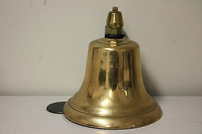 Wwii United States Navy ( Usn ) 1941 Antique Brass Bell