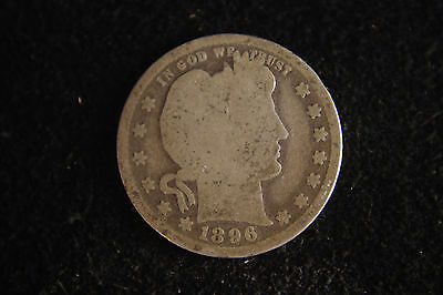 1896 Barber Quarter, Fill That Slot in Your Collection