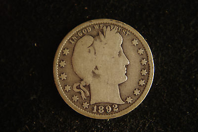 1892 Barber Quarter, Fill That Slot in Your Collection