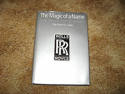 Rolls Royce Story--The First 40 years by Peter Pugh--2001--excellent in dj