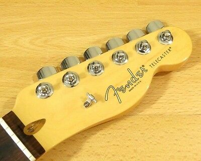 Fender American Standard Telecaster Neck Tuners Rosewood Tele Neck Global!