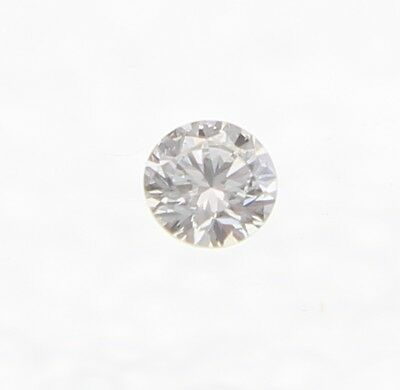 0.02 Carat G Color VVS2 Round Brilliant Natural Loose Diamond For Jewelry 1.96mm