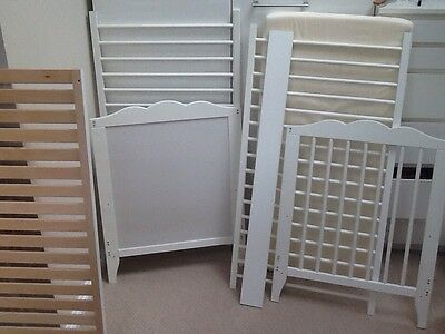 IKEA BABY COT white with mattress