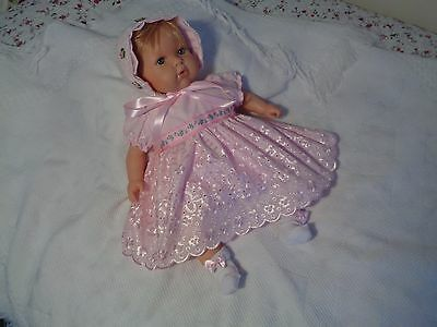 Dollydumpling Reborn Dolls Clothes********handmade For Any 18/19 Inch Doll