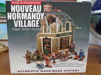 King And Country Sp45 Normandy Village  18/19Th Century European Building