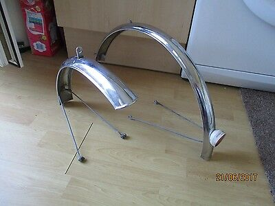 Vintage Bicycle Spares/Parts/Mudguards/Raleigh/Sturmey Archer/1970's