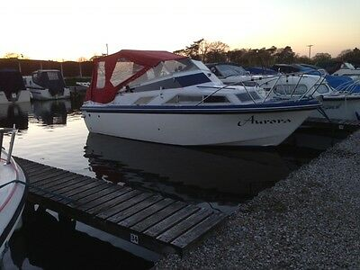 Fairline Holiday Cruiser Canal Boat TRAILER NOT INCLUDED