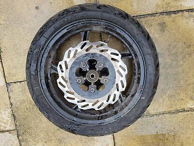 Sym Jet 4 125Cc 2012 Front Wheel Complete With Brake Disc & Tyre