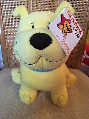 CLIFFORD Big Red Dog Kohl's Cares For Kid Stuffed Animal Plush Toy T-BONE NEW
