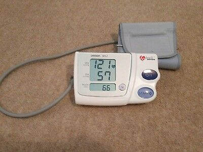 Omron blood pressure monitor used but fully working.