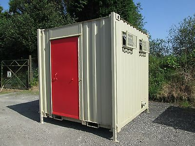 8ft Toilet Block 1+1, Site Toilet, Portable Toilet