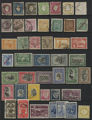 Portugal 1862 - 1940 MH / Used Collection on Stock Page CV $276.60