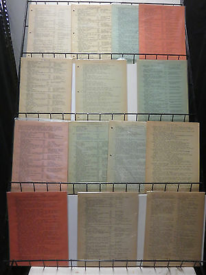 Michael Tiefenbacher DC Comics Index Lot of 14Diff Reference for the Silver Age