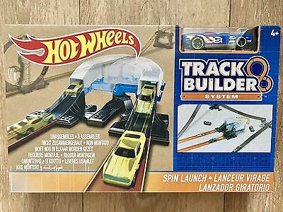 New Hot Wheels - Track Builder System - Spin Launch
