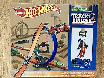 New Hot Wheels - Track Builder System - Starter Kit