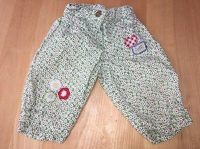 Next Baby Girls Ditsy Floral Bloomer 3/4 Trousers 12-18m