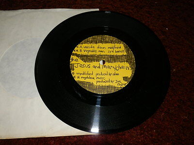 Jesus And Mary Chain..upside Down..7 Inch 45..1984..mint-