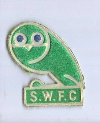 Sheffield Wednesday FC Owl shaped fabric badge / patch