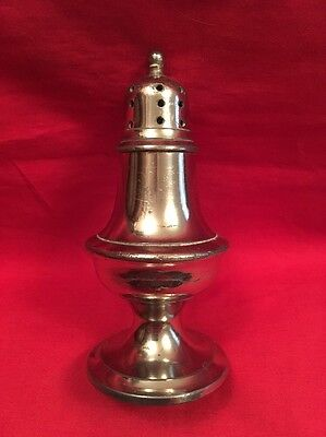 Vintage Silver Plated Pepper Shaker
