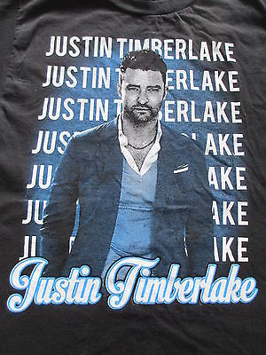 Justin Timberlake The 20/20 Experience Tour Black T Shirt Size S Small M Medium