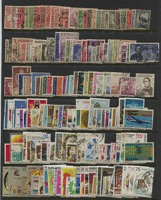 Australia Large Used Stamp Collection 350+ Different to 1981