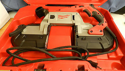Milwaukee Deep Cut Band Saw with Case 6232-21 *Very Good Condition*
