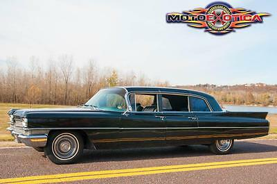 1963 Cadillac Other Series 75 Limousine 1963 Cadillac Series 75 Limousine, Custom Interior, Custom Audio, Rear AC&Heat