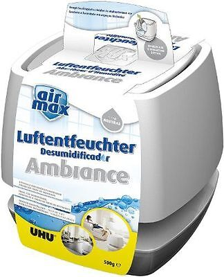 UHU - Absorbeur D'humidité Airmax Ambiance, 100 G, Blanc - [48155] NEUF