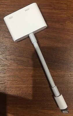 Genuine Apple Lightning to HDMI adapter