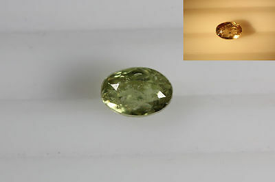 Rare*2.270Ct **color Change Diaspore** Turkey Unique Excellent Luster Stone~!!!