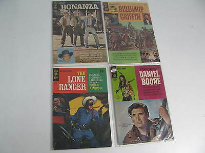 Lot of 4: Gold Key 1960's Vintage Comic Book Assortment(EX, Paperback)