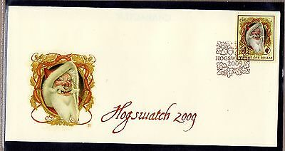 Discworld Stamps Hogswatch 2009 SPORT Cover Prize (11460)