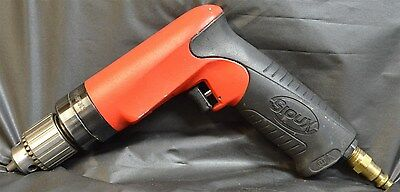 "Sioux Tools 3/8"" 6000Rpm  Pistol Grip Air Drill ~ Made In Usa!"