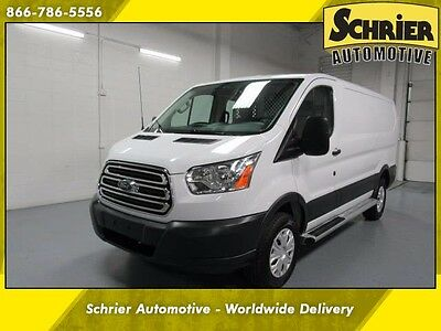 2016 Ford Transit Connect  16 Ford T250 Transit Cargo Van RWD White Auxiliary 12 Volt Automatic