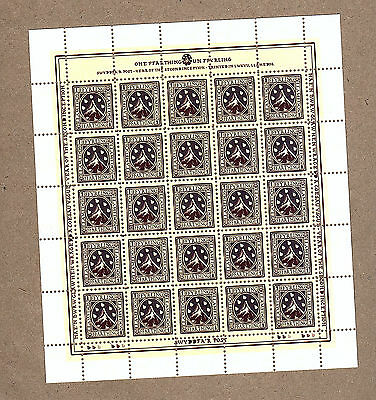 Discworld Stamps Llamedos Farthing - Second Issue Sheet (11563)