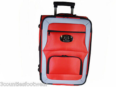 Prohawk Argyle Trolley Lawn Bowling Bag Red