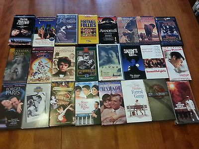 Lot of 24 VHS movies/shows, some classics.