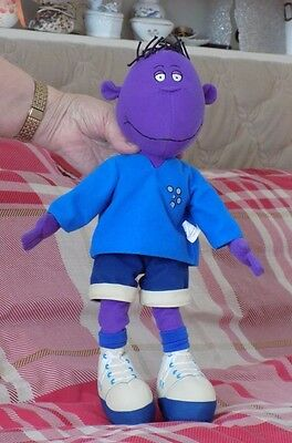"TWEENIES SOFT TOY -  16"" MILO with REMOVABLE TOP and TROUSERS  EX. COND."
