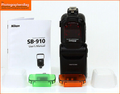 Nikon SB-910 Portable Electronic Speedlite Flash,  Free UK Postage