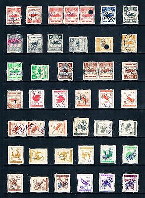 Western Australia, a Selection of Revenue Duty Fiscal Stamps, GU.