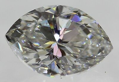 Certified 0.49 Carat E VVS1 Marquise Natural Loose Diamond 6.2x4.26mm VG VG