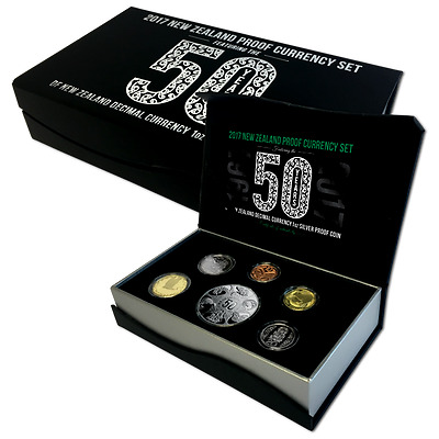 2017 New Zealand Proof Silver Currency Set!!! MINTAGE 750!!!