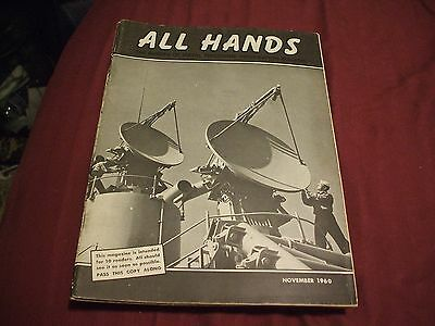 ALL HANDS NAVY/NAVAL/MILITARY Magazine - November 1960