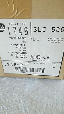 Allen bradley 1746-P2 power supply slc 500 brand new