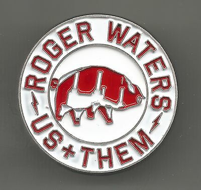 2017 Us & Them Tour Pin * by Roger Waters (2017, 2 Post Back)